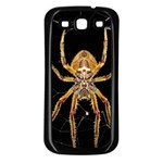 Insect Macro Spider Colombia Samsung Galaxy S3 Back Case (Black)