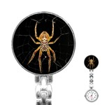Insect Macro Spider Colombia Stainless Steel Nurses Watch