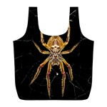 Insect Macro Spider Colombia Full Print Recycle Bags (L)