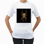 Insect Macro Spider Colombia Women s T-Shirt (White)