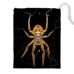 Insect Macro Spider Colombia Drawstring Pouches (XXL)