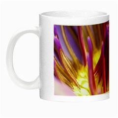 Flower Blossom Bloom Nature Night Luminous Mugs by BangZart