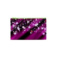 Background Christmas Star Advent Cosmetic Bag (xs) by BangZart