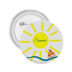 Summer Beach Holiday Holidays Sun 2 25  Buttons by BangZart