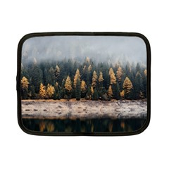 Trees Plants Nature Forests Lake Netbook Case (small)  by BangZart