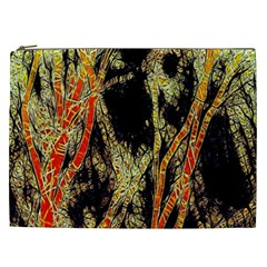 Artistic Effect Fractal Forest Background Cosmetic Bag (xxl)  by Amaryn4rt