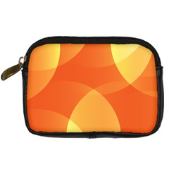 Abstract Orange Yellow Red Color Digital Camera Cases by Celenk