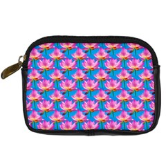 Seamless Flower Pattern Colorful Digital Camera Cases