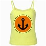 Anchor Keeper Sailing Boat Yellow Spaghetti Tank
