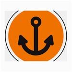 Anchor Keeper Sailing Boat Small Glasses Cloth
