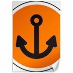 Anchor Keeper Sailing Boat Canvas 24  x 36