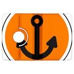 Anchor Keeper Sailing Boat Kindle Fire HDX Flip 360 Case