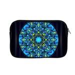 Mandala Blue Abstract Circle Apple MacBook Pro 13  Zipper Case