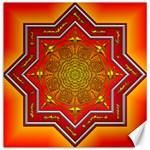 Mandala Zen Meditation Spiritual Canvas 12  x 12