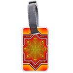 Mandala Zen Meditation Spiritual Luggage Tags (Two Sides)