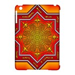 Mandala Zen Meditation Spiritual Apple iPad Mini Hardshell Case (Compatible with Smart Cover)