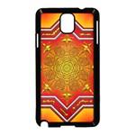 Mandala Zen Meditation Spiritual Samsung Galaxy Note 3 Neo Hardshell Case (Black)