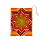 Mandala Zen Meditation Spiritual Drawstring Pouches (Medium)