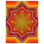 Mandala Zen Meditation Spiritual Drawstring Bag (Large)