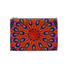 Abstract Art Abstract Background Cosmetic Bag (medium)
