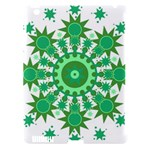 Mandala Geometric Pattern Shapes Apple iPad 3/4 Hardshell Case (Compatible with Smart Cover)