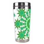 Mandala Geometric Pattern Shapes Stainless Steel Travel Tumblers