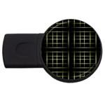 Background Texture Pattern USB Flash Drive Round (2 GB)