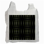 Background Texture Pattern Recycle Bag (One Side)