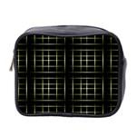Background Texture Pattern Mini Toiletries Bag 2-Side