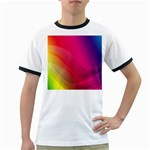 Background Wallpaper Design Texture Ringer T-Shirts