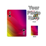Background Wallpaper Design Texture Playing Cards 54 (Mini)