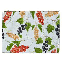 Juicy Currants Cosmetic Bag (xxl)  by TKKdesignsCo