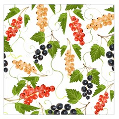 Juicy Currants Large Satin Scarf (square) by TKKdesignsCo