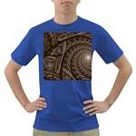 Abstract Pattern Graphics Dark T-Shirt