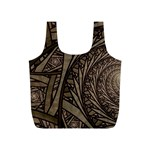 Abstract Pattern Graphics Full Print Recycle Bags (S)