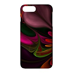 Fractal Abstract Colorful Floral Apple Iphone 7 Plus Hardshell Case