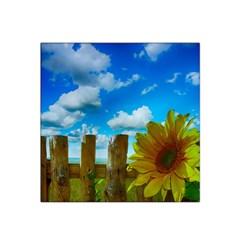 Sunflower Summer Sunny Nature Satin Bandana Scarf by Celenk