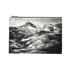 Mountains Winter Landscape Nature Cosmetic Bag (large)