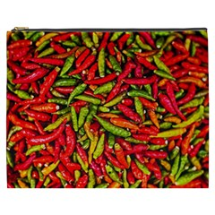 Chilli Pepper Spicy Hot Red Spice Cosmetic Bag (xxxl)  by Celenk