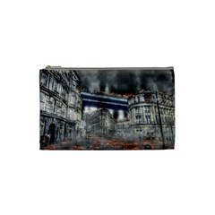 Destruction City Building Cosmetic Bag (small)