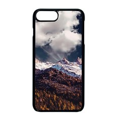 Mountain Sky Landscape Hill Rock Apple Iphone 8 Plus Seamless Case (black) by Celenk