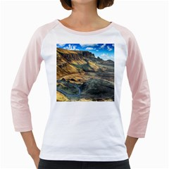 Nature Landscape Mountains Outdoor Girly Raglans