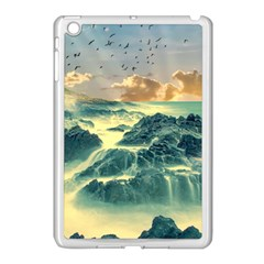 Coastline Sea Nature Sky Landscape Apple Ipad Mini Case (white)
