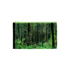 Forest Woods Nature Landscape Tree Cosmetic Bag (xs)