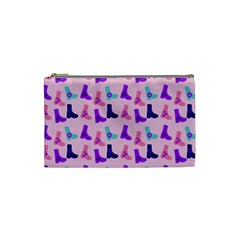 Candy Boots Cosmetic Bag (small)  by snowwhitegirl