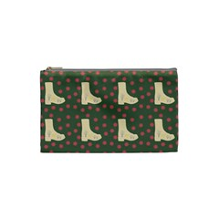 Green Boot Cosmetic Bag (small)  by snowwhitegirl