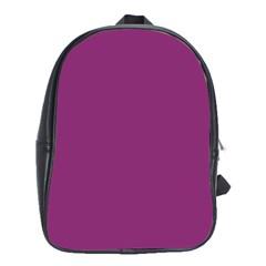 Grape Purple School Bag (xl) by snowwhitegirl