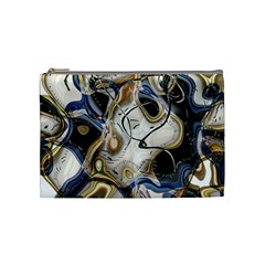 Time Abstract Dali Symbol Warp Cosmetic Bag (medium)  by Nexatart
