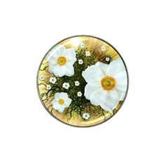 Summer Anemone Sylvestris Hat Clip Ball Marker (10 Pack) by Nexatart
