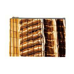 Abstract Architecture Background Cosmetic Bag (large)  by Nexatart
